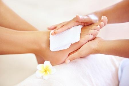 Pedicure and Massage